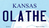 Olathe Kansas State License Plate Novelty Magnet M-6612