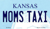 Moms Taxi Kansas State License Plate Novelty Magnet M-6626
