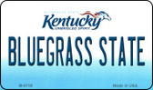 Bluegrass State Kentucky State License Plate Novelty Magnet M-6758