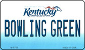 Bowling Green Kentucky State License Plate Novelty Magnet M-6763