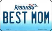 Best Mom Kentucky State License Plate Novelty Magnet M-6771
