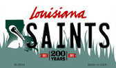 Saints Louisiana State License Plate Magnet M-2044