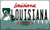 Louisiana Louisiana State License Plate Novelty Magnet M-6189