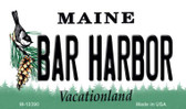 Bar Harbor Maine State License Plate Magnet M-10390