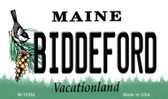 Biddeford Maine State License Plate Magnet M-10392