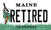 Retired Maine State License Plate Magnet M-10405