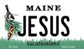 Jesus Maine State License Plate Magnet M-10408