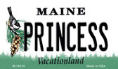 Princess Maine State License Plate Magnet M-10414
