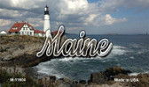Maine Lighthouse Beach Magnet M-11604
