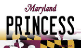 Princess Maryland State License Plate Magnet M-10495