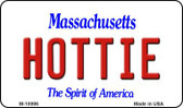 Hottie Massachusetts State License Plate Magnet M-10996
