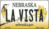 La Vista Nebraska State License Plate Magnet M-10578
