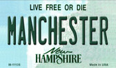 Manchester New Hampshire State License Plate Magnet M-11135