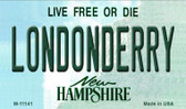 Londonderry New Hampshire State License Plate Magnet M-11141