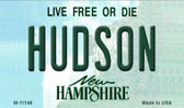 Hudson New Hampshire State License Plate Magnet M-11146