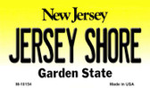 Jersey Shore New Jersey State License Plate Magnet M-10154