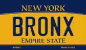 Bronx New York State License Plate Magnet M-8941