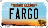 Fargo North Dakota State License Plate Magnet M-10703