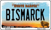 Bismarck North Dakota State License Plate Magnet M-10704