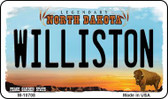 Williston North Dakota State License Plate Magnet M-10708