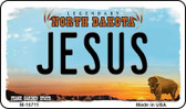 Jesus North Dakota State License Plate Magnet M-10711