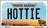 Hottie North Dakota State License Plate Magnet M-10713