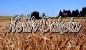 North Dakota Wheat Farm Magnet M-11622