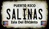 Salinas Puerto Rico State License Plate Magnet M-2872