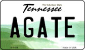Agate Tennessee State License Plate Magnet M-6428