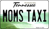 Moms Taxi Tennessee State License Plate Magnet M-6440