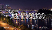 Tennessee Bridge Lights Magnet M-11631