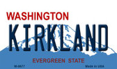 Kirkland Washington State License Plate Magnet M-8677