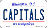 Capitals Washington DC State License Plate Magnet M-2299