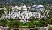 Washington DC White House Magnet M-11638