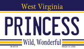 Princess West Virginia State License Plate Magnet M-6518