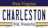 Charleston West Virginia State License Plate Magnet M-6537