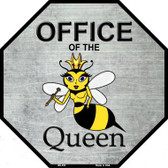 Office of the Queen Metal Novelty Octagon Stop Sign BS-356