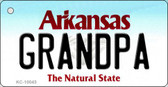 Grandpa Arkansas State License Plate Key Chain KC-10043