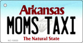 Moms Taxi Arkansas State License Plate Key Chain KC-10053