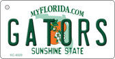 Gators Florida State License Plate Key Chain KC-6020