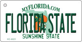 Florida State University State License Plate Key Chain KC-6021