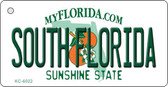 South Florida State License Plate Key Chain KC-6022