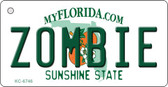 Zombie Florida State License Plate Key Chain KC-6746