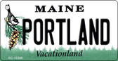 Portland Maine State License Plate Key Chain KC-10386