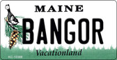 Bangor Maine State License Plate Key Chain KC-10388