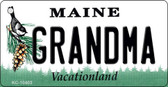 Grandma Maine State License Plate Key Chain KC-10403