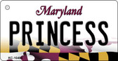 Princess Maryland State License Plate Key Chain KC-10495