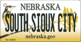 South Sioux City Nebraska State License Plate Novelty Key Chain KC-10575