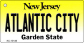 Atlantic City New Jersey State License Plate Key Chain KC-10149