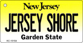 Jersey Shore New Jersey State License Plate Key Chain KC-10154